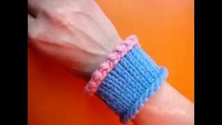 Knitting bining off method Как закрыть петли Вязание спицами 66 Урок