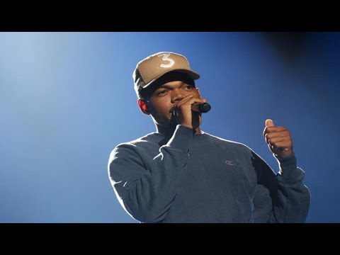 Chance the rapper debuts new song with daniel caesar on stephen colbert