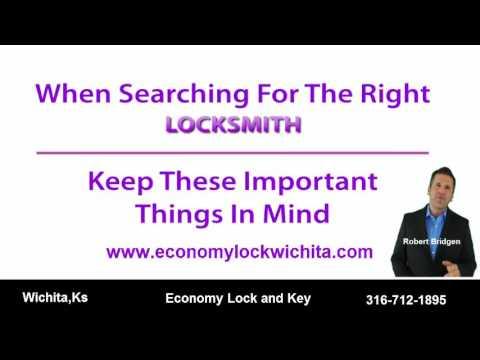 Locksmith Wichita, Ks- Economy Lock 316-712-1895