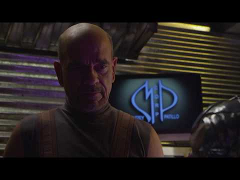 Space Command: A Scene Between Yusef (Robert Picardo) and Dor (Doug Jones)