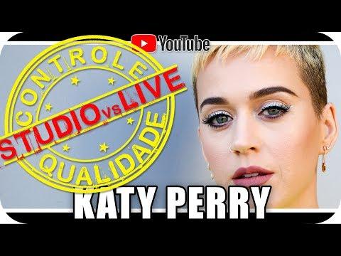 KATY PERRY - Studio vs Live CONTROLE DE QUALIDADE Marcio Guerra Reagindo React Humor Music Video