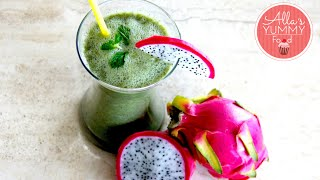 Healthy Breakfast: Day 7: Dragon Fruit Smoothie - Losing Weight