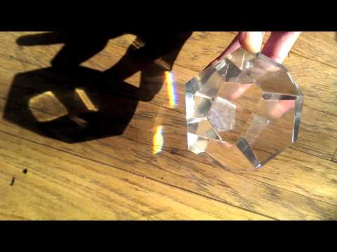 Cube of Light in a Dodecahedron