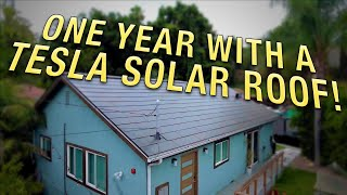 1 Year with Tesla Solar Roof: top 11 questions answered + real production numbers & utility bills!