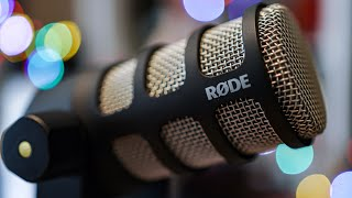 Rode PodMic Review / Test (How good is this Broadcast Dynamic Microphone Review for $99?)