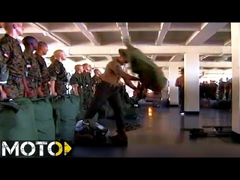 Drill Instructors WILL Destroy Your Seabag. OOH RAH Drill Instructor Part 12.