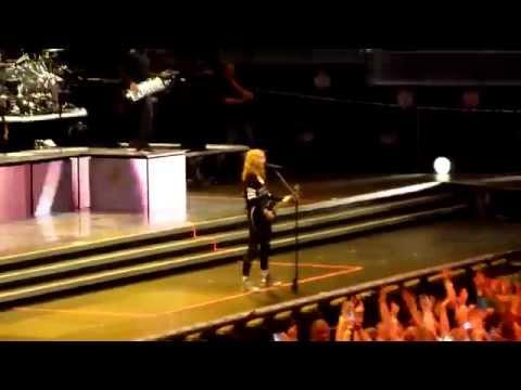 Turn up the radio Madonna soundcheck Amsterdam 8th July 2012 HD