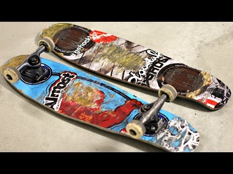 How to Make a wooden PENNY BOARD - DIY Skateboard
