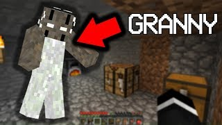 Exploring the Granny.exe Seed in Minecraft... (Scary Minecraft Video)