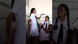 😂🔫rathnawali kello #rathnawalikello #schoolgirl #schoolgirlfun