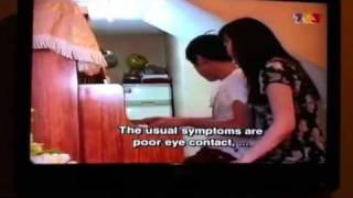 Clarence ( autistic savant) at Majalah 3, 2 April 2011