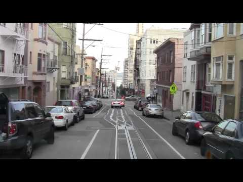 San Francisco Cable Car (Full Ride) - From Fisherman's Whorf to Union Square