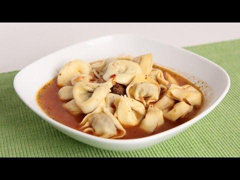 Twenty Minute Italian Tortellini Soup Recipe - Laura Vitale - Laura In The Kitchen Episode 995