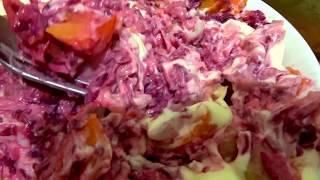 Селедка в полушубке вкусный салат рецепт