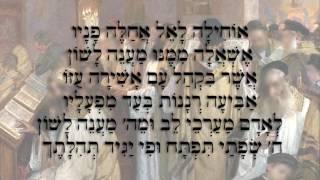 Amnon Beer sings Ohila La'Kel                         אמנון בר שר אוחילה