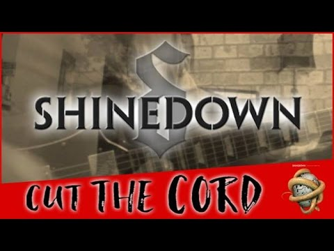 cut the cord shinedown guitar bass cover collab video with tab youtube. Black Bedroom Furniture Sets. Home Design Ideas