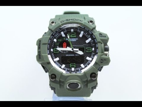 80eba0887eab Relógio Casio g shock ( falso ) PTBR - YouTube