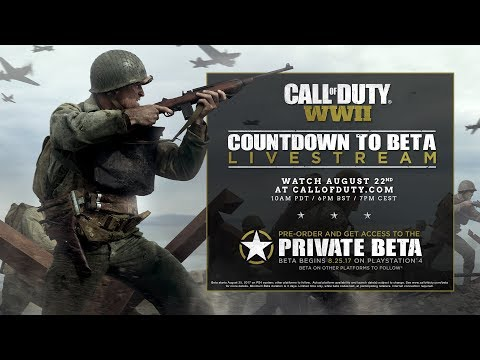 Call of Duty: WW2 beta - Download TODAY on PS4, but bad news for