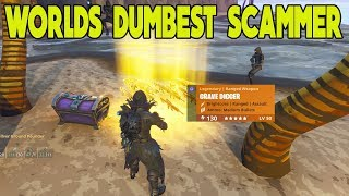 Worlds Dumbest Scammer Scammed Himself (Scammer Gets Scammed) Fortnite Save The World