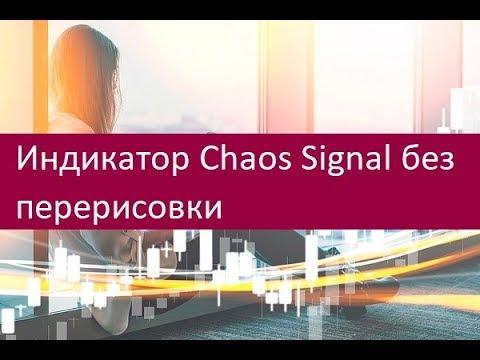 Индикатор Chaos Signal без перерисовки  Стратегия применения