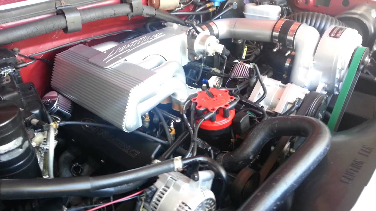 1994 supercharged ford lightning engine