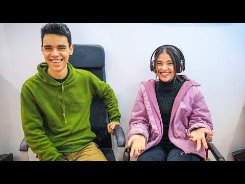 تحدي السماعات وضحك السنين مع اخويا 😂😂 - Katy Emad