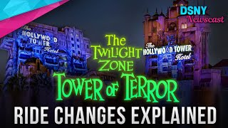 TOWER OF TERROR Ride Changes Explained - Disney News - 10/31/19