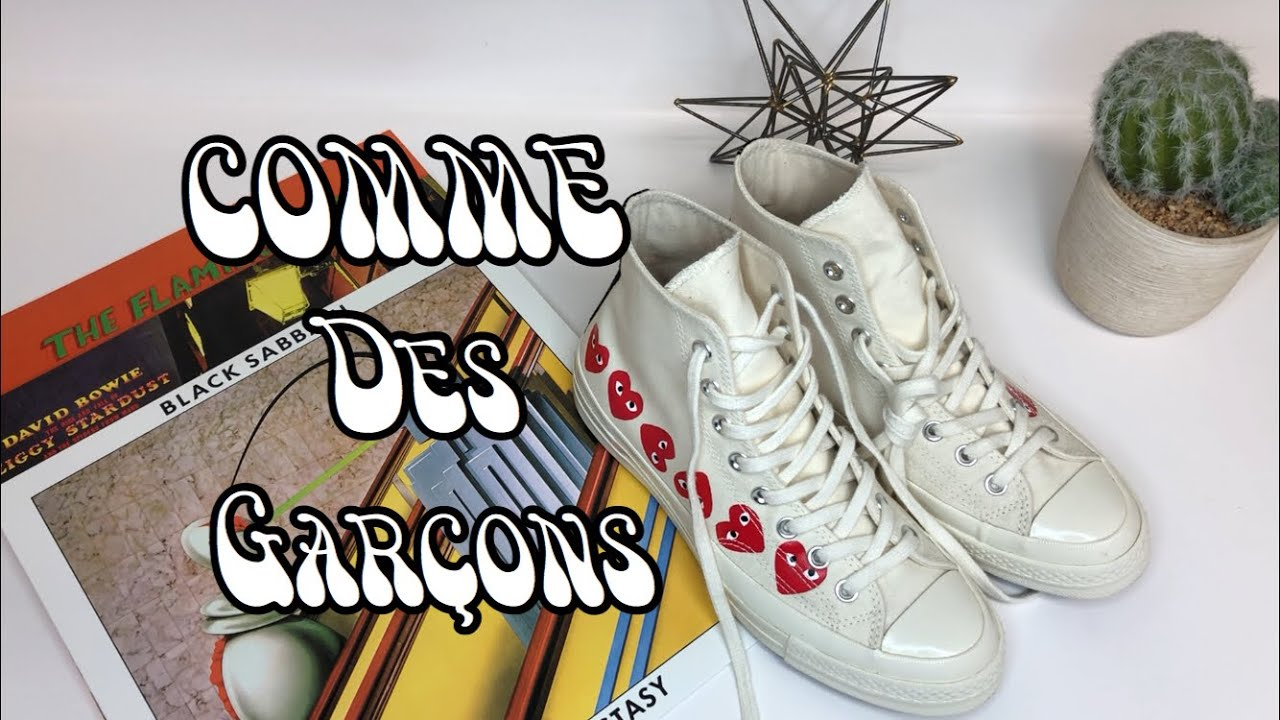 Before You Buy COMME DES GARÇONS X Play Converse Chuck 70 Dover Street Market Review Unboxing Detail