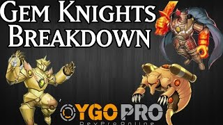 Devpro Yu-gi-oh! 2015 Deck Building | Gem Knight Deck