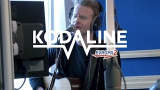 KODALINE - Follow Your Fire acoustic (Evropa 2 LIVE)