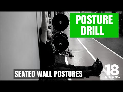 Posture Drill for Golfers: Seated Wall Postures