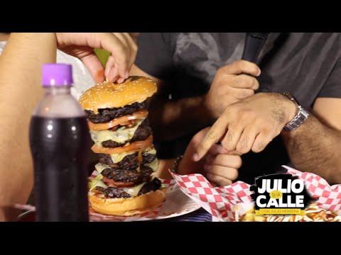 Download EL RETO Comerse un Hamburger de 5 carnes!!! - Julio En La Calle