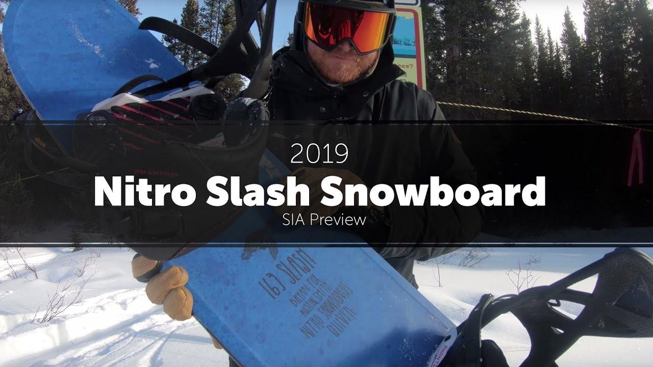 2019 Nitro Slash Snowboard - Preview