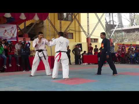 Rupak Nepali 19th national game (final fight)