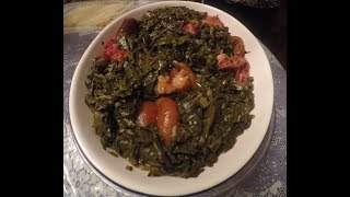 How to make old fashioned fried collard greens