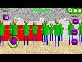 100 CLONE BALDI ANDROID!? | Baldi's Basics in Education and Learning