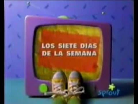 """Barney y Sus Amigios: Los Siete Dias De La Semana   """"Seven"""