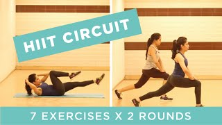 HIIT Circuit for Total Body Toning | Soul to Sole