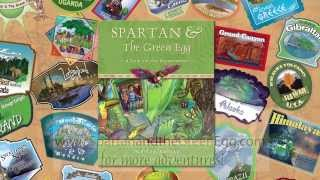 Spartan And The Green Egg: A Trip To The Rainforest Book Trailer