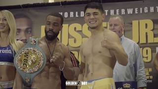 Joseph Diaz Jr Ready For WAR with Gary Russell Jr. - Official Weigh-in