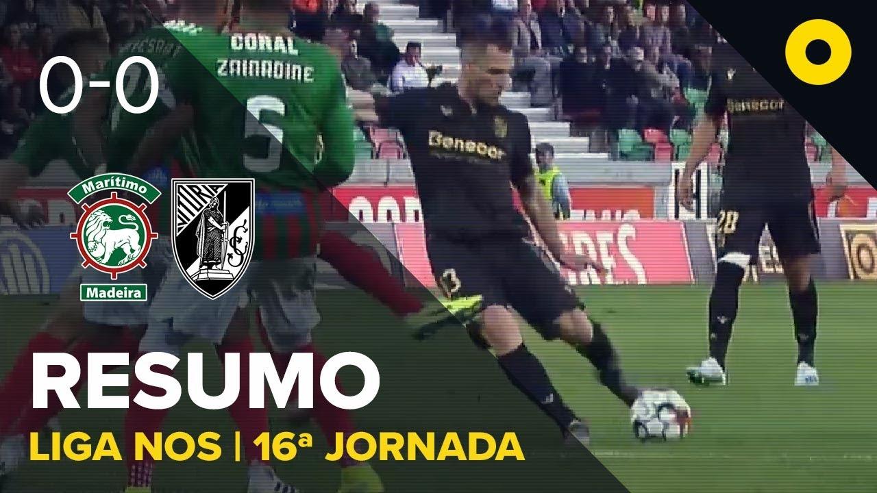 Маритиму  0-0  Витория Гимарайнш видео