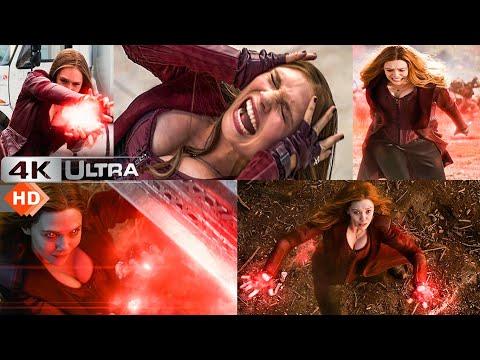 Download Scarlet Witch Wanda Maximoff - Best Fight Scenes 4k