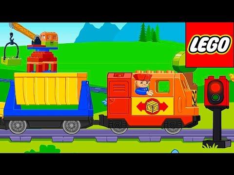Лего поезд и