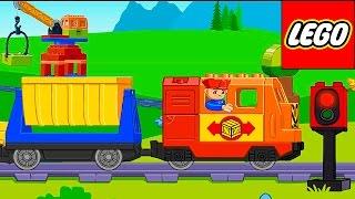 Лего поезд и железная дорога для детей. Обзор детского приложения Lego Duplo Train(Лего поезд-Lego Duplo Train и железная дорога для детей - это всегда акктуальная и интересная тема для деток. В этом..., 2015-12-03T15:35:02.000Z)
