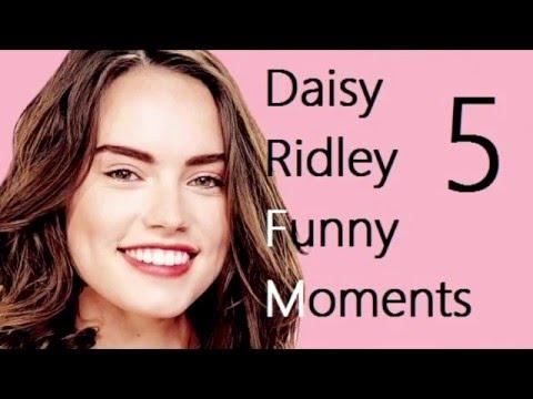 Daisy Ridley Funny Moments 5