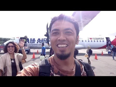 FLIGHT JAKARTA - ENDE pt. 2/2 by NAM AIR IN 574 ATR 72-600 Kupang-Ende