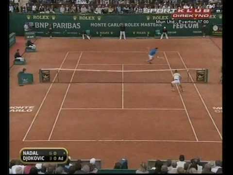Rafael Nadal vs. Novak Djokovic Montecarlo Final