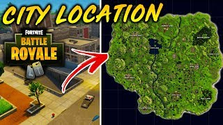 FORTNITE: NEW CITY + TOWNS LOCATIONS *FOUND* (Fortnite Battle Royale)