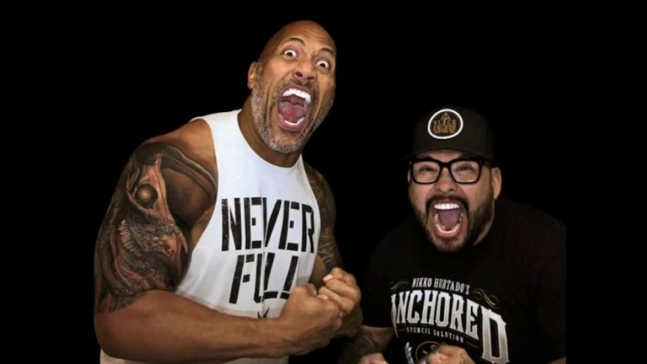 Nuevo Tatuaje De La Roca Y Su Significado Tattoo The Rock La