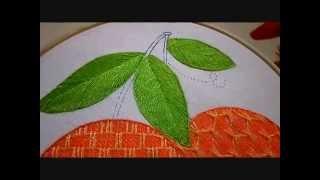 bordado fantasa hoja naranja 2